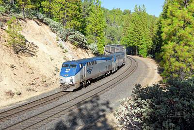 Photograph - Amtrak 20 by Jim Thompson