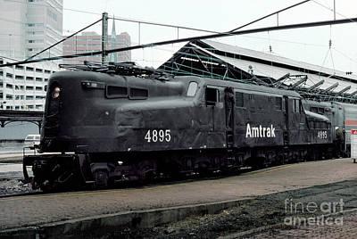 Photograph - Amtrak Amtk 4895 Gg-1, Altoona Gg1 by Wernher Krutein