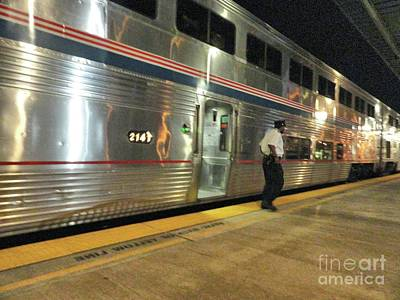 Photograph - Amtrak At Okc by Janette Boyd