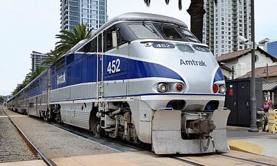 Amtrak F59 At San Diego Art Print
