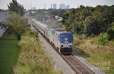Tampa Photograph - Amtrak Silver Star by John Black