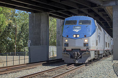 Photograph - Amtrak148 by Jim Thompson