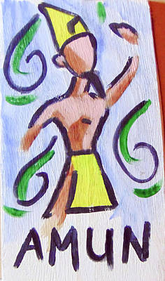 Painting - Amun by Loretta Nash
