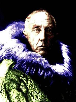 Norway Mixed Media - Amundsen 2 by Otis Porritt