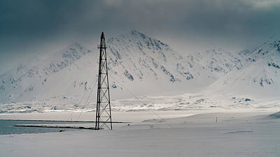 Photograph - Amundsen Mast by James Billings