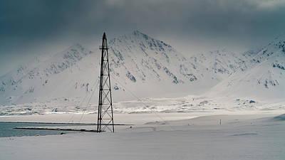 Photograph - Amundsen Mast by James Billings