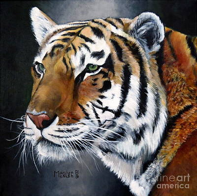 Painting - Amur Tiger  by Marilyn McNish