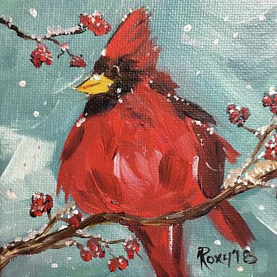 Amused Cardinal Original