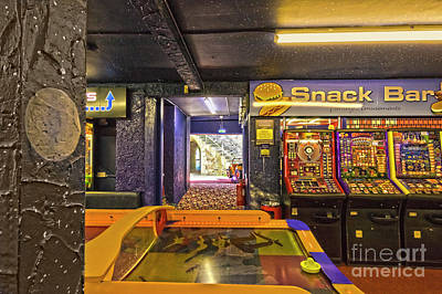 Photograph - Amusement Arcade by Terri Waters