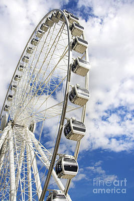 Amusement Wheel Art Print by Jorgo Photography - Wall Art Gallery