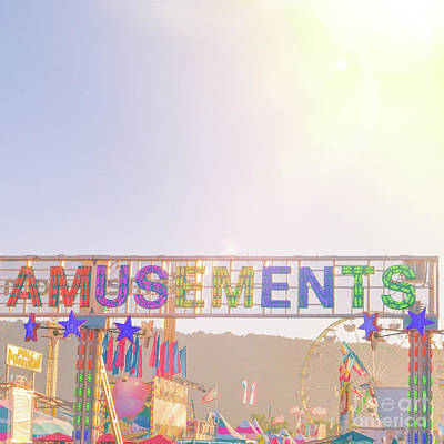 Photograph - Amusements by Cindy Garber Iverson