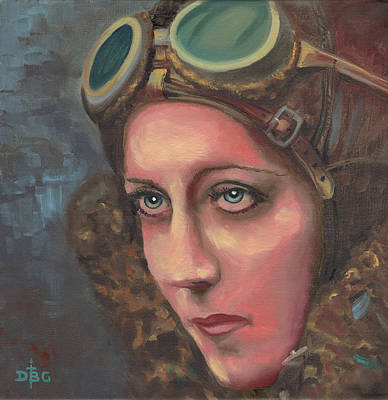 Amy Johnson Art Print