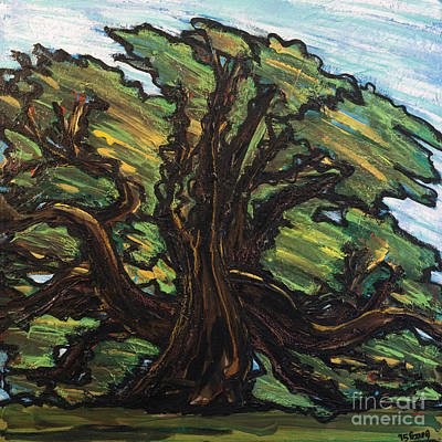 Painting - Amy's Tree by Rebecca Weeks Howard