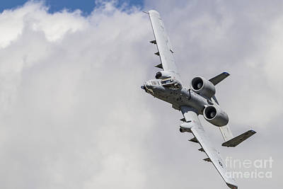 Waukegan Photograph - An A-10 Thunderbolt II Of The U.s. Air by Rob Edgcumbe