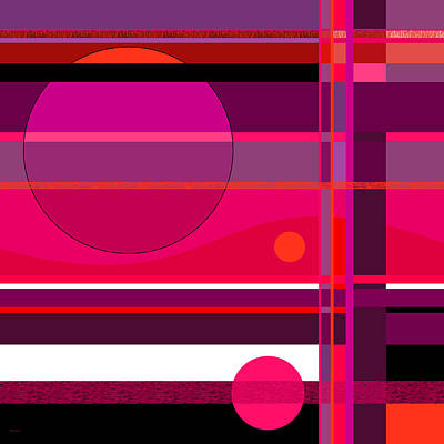 Digital Art - An Abstract Direction by Val Arie