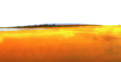 An Abstraction Of Yellows Original by Jan W Faul