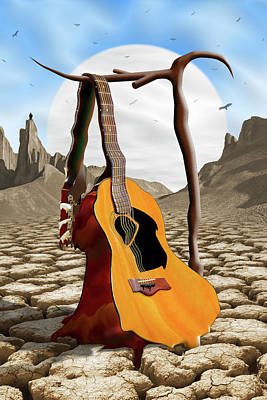 Buzzard Wall Art - Photograph - An Acoustic Nightmare by Mike McGlothlen