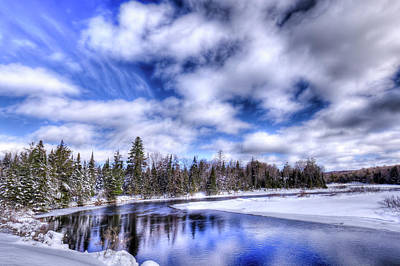Photograph - An Adirondack Winter by David Patterson
