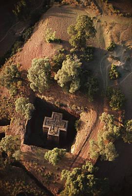 Crucifix Art Photograph - An Aerial View Of Beta by James P. Blair
