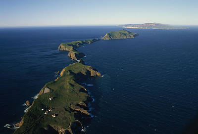 Anacapa Photograph - An Aerial View Of East Anacapa Island by Rich Reid