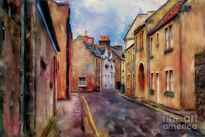 An Afternoon In St Andrews Art Print