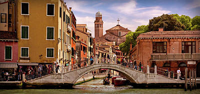 Photograph - An Afternoon In Venice by Barry O Carroll