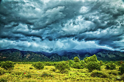 Photograph - An Afternoon Storm by Gestalt Imagery