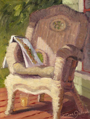 Painting - An Afternoon With Monet by L Diane Johnson