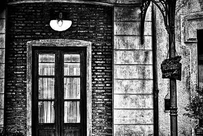 Photograph - An Aged Restaurant In Gouin by Fine Art Photography Prints By Eduardo Accorinti