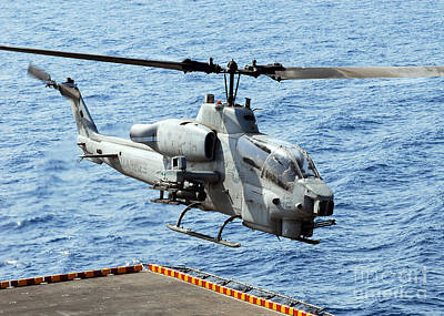 An Ah-1w Super Cobra Helicopter Art Print by Stocktrek Images