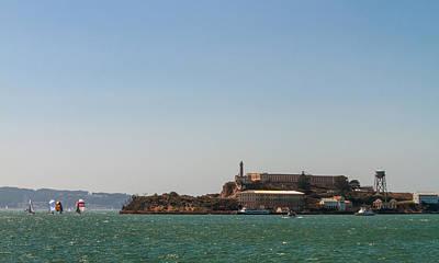 Photograph - An Alcatraz Afternoon by Bonnie Follett