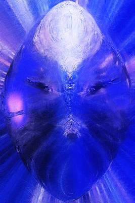 Digital Art - An Alien Visage  by David Lane