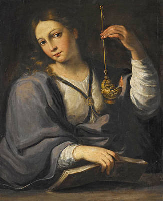 Painting - An Allegory Of Wisdom by Attributed to Giovanni Domenico Cerrini
