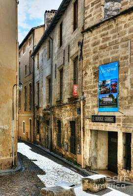 Photograph - An Alley In Avignon 2 by Mel Steinhauer