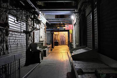 Photograph - An Alley In Mahane Yehuda Market by Dubi Roman