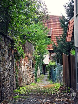 Photograph - An Alley In Schwaigern by Sarah Loft
