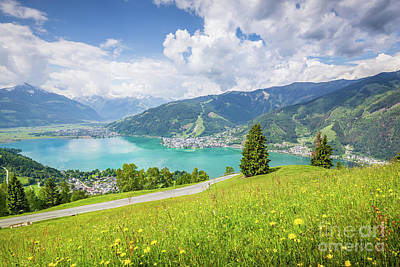 Photograph - Zell Am See by JR Photography