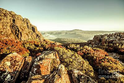 Boulder Wall Art - Photograph - An Alpine Morning by Jorgo Photography - Wall Art Gallery