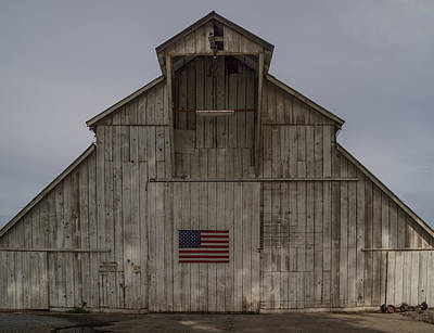 Photograph - An American Barn by Roger Mullenhour