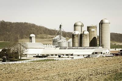 Photograph - An American Farm by Stewart Helberg