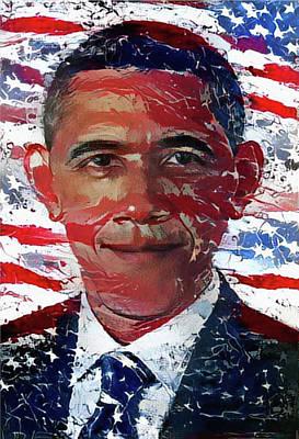 An American President Art Print