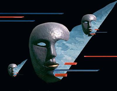 Digital Art - An Androids Dream by Steve Karol