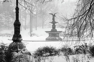 Photograph - An Angel In Winter by Cornelis Verwaal