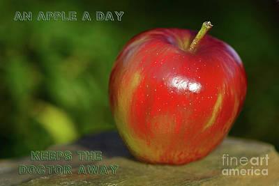 An Apple A Day By Kaye Menner Art Print by Kaye Menner