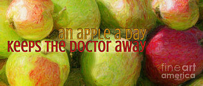 Photograph - An Apple A Day by Jutta Maria Pusl