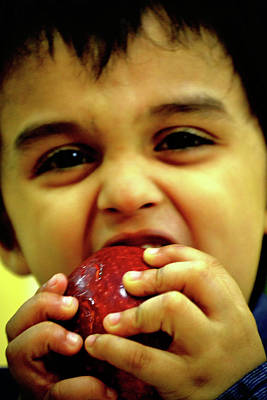 Photograph - An Apple A Day Keeps The Doctor Away by Anand Swaroop Manchiraju