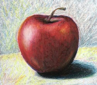 Pastel - An Apple A Day by Lisa DuBois