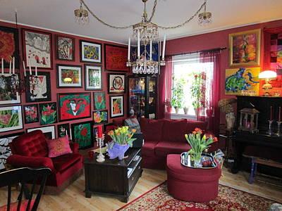 An Artists Livingroom Art Print