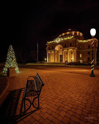 Photograph - An Atascadero Christmas by Tim Bryan