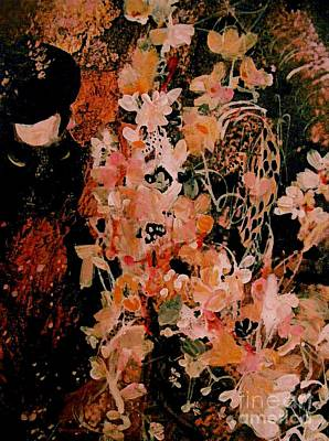Painting - An Autum Bouquet by Nancy Kane Chapman
